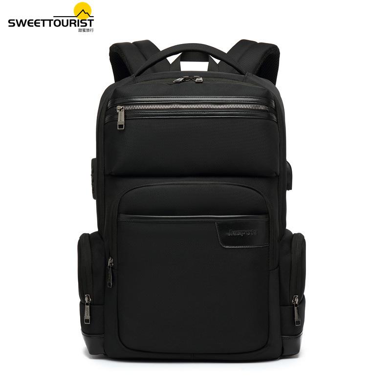 USB charging multifunctional waterproof backpack men's business travel backpack notebook school bag