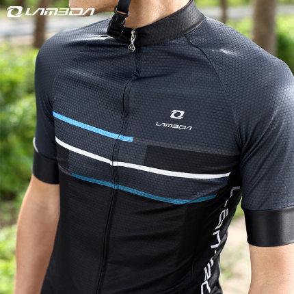 Lampada Trang phục xe đạp  Mùa hè Đạp xe Jersey Áo ngắn tay ngắn Nam Phù hợp với Xe đạp leo núi Quần