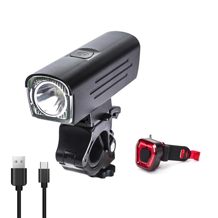 Đèn LED mới cho xe đạp loại sạc USB không thấm nước .
