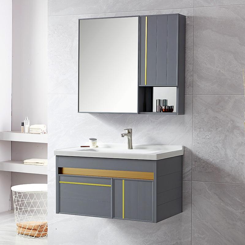 Bộ tủ chậu Lavabo cao cấp cho không gian phòng tắm .