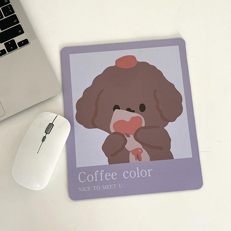 Original mouse pad girl cute ins wind trumpet simple and fresh creative laptop office simple
