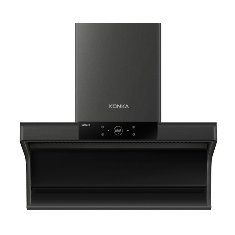 Konka 1820 range hood, household range hood, automatic cleaning, large suction, smart top and side t
