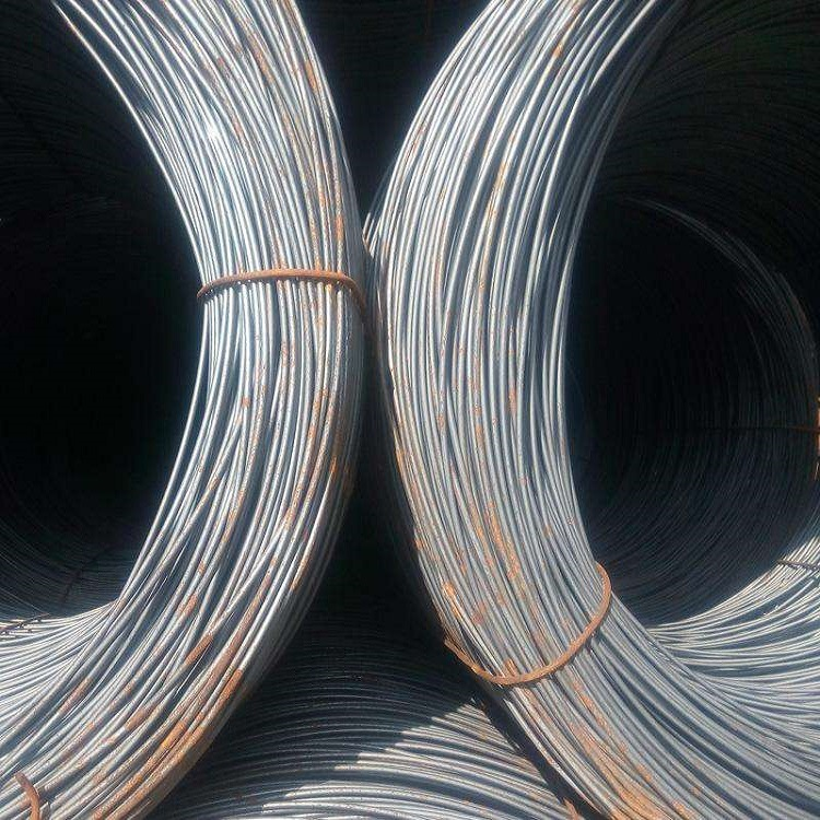 Jiujiang q235 high-speed wire coil round ordinary wire construction wire Q195