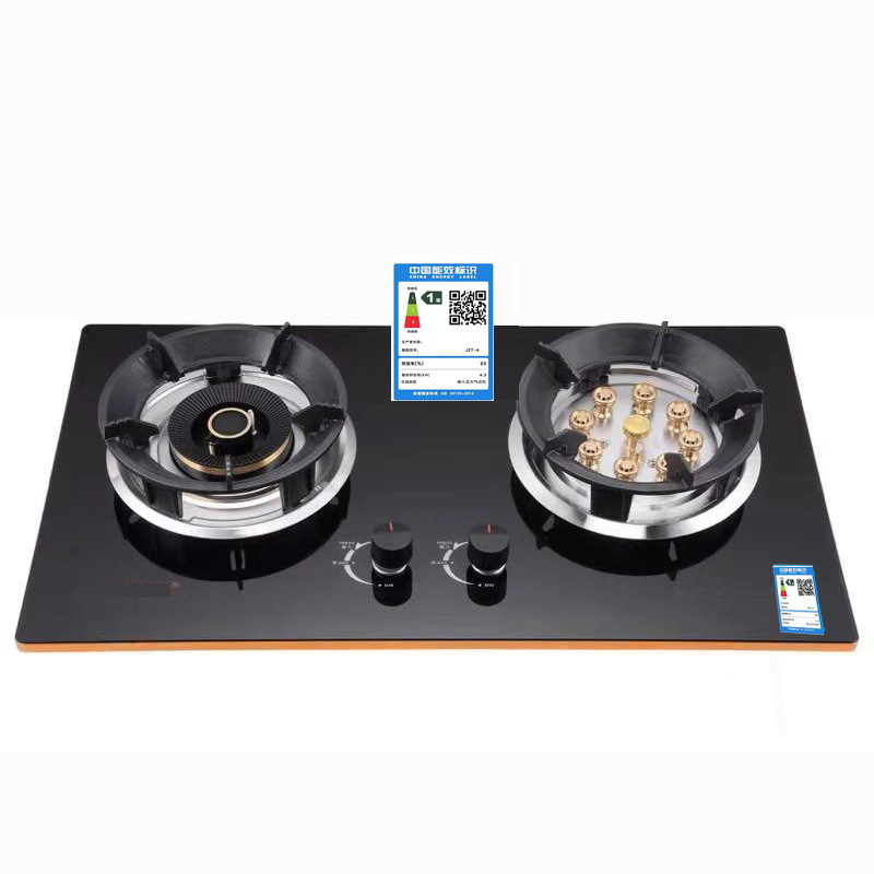 Built-in dual-purpose gas stove, thermocouple flameout protection, liquefied gas natural gas stove,