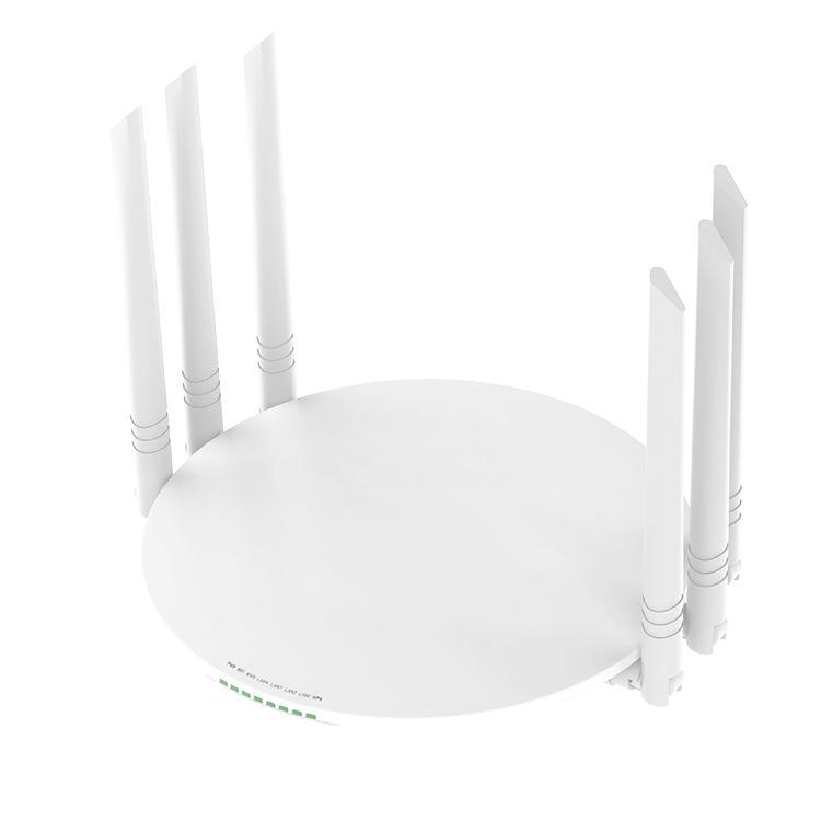1200M gigabit dual-band 5G home fiber high-speed wall-through WIFI wireless router