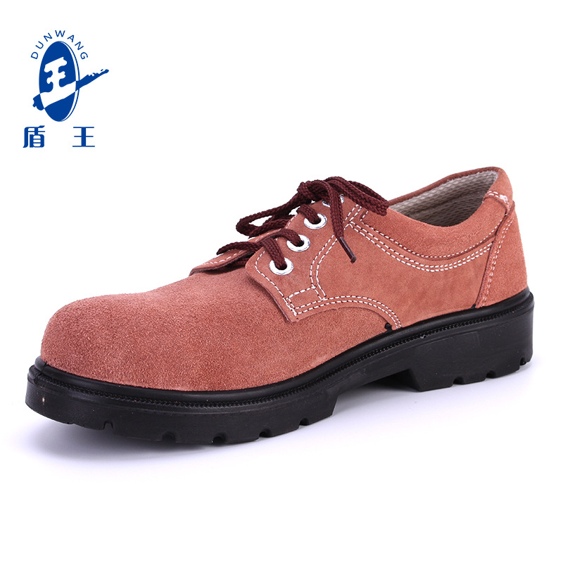 Shield King breathable insulation work safety shoes women cross-border steel toe anti-smashing and a