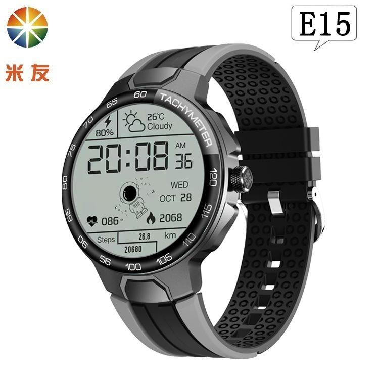Missyou E15 Smart Watch 24 Sports Modes Heart Rate Blood Pressure Blood Oxygen IP68 Outdoor Health