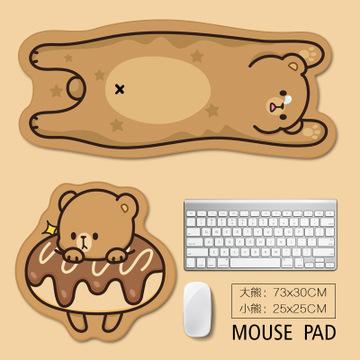 LANDNA Thảm lót chuột Tấm lót chuột hình tùy chỉnh, tấm lót chuột hình thú hoạt hình, tấm lót chuột