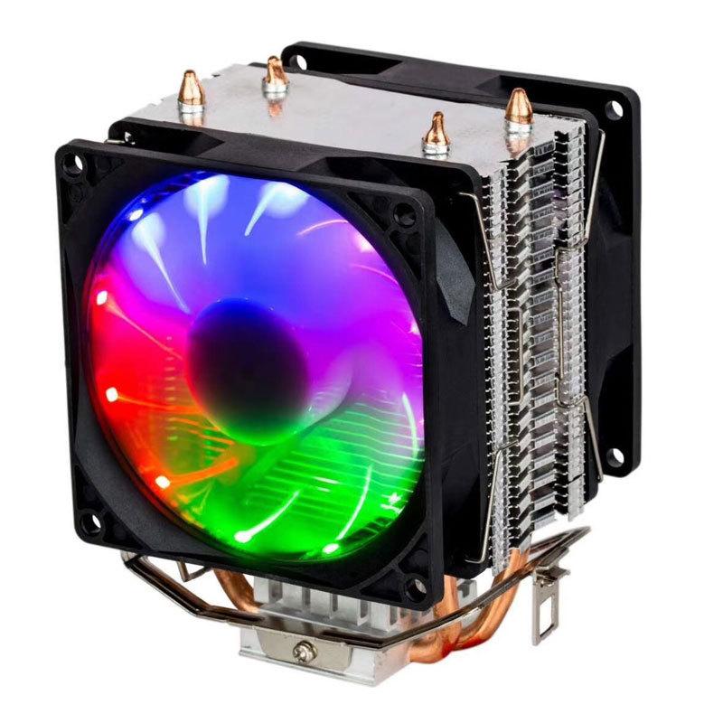 XINBADA Copper tube multi-platform computer CPU fan radiator, generation of silent universal heat pi