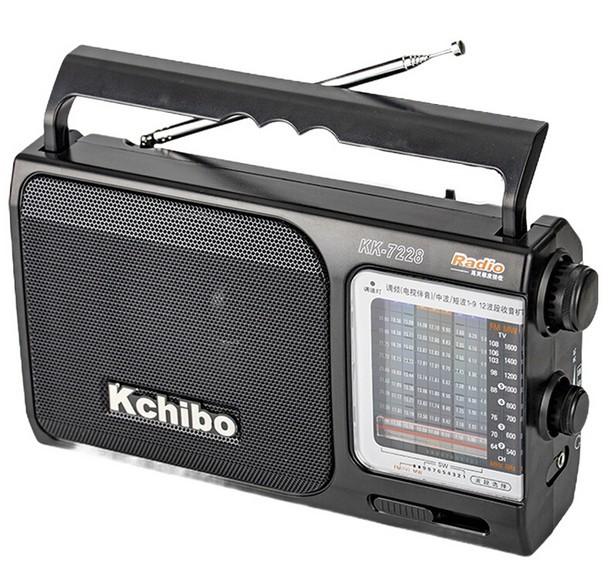 Kailong 12-band radio broadcasting semiconductor portable elderly semiconductor mini KK-7228