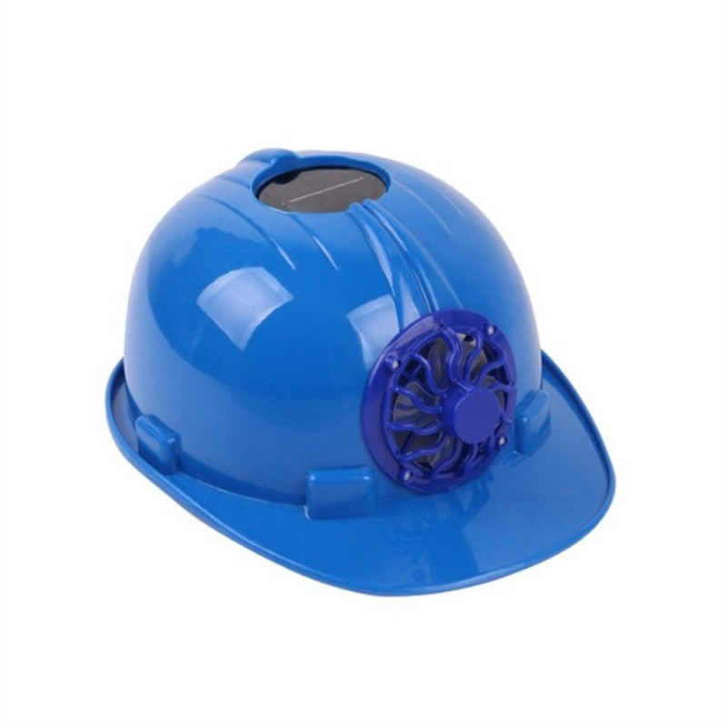 Hard hat construction site summer solar energy with fan breathable type construction site sunshade s