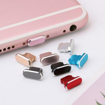 Nút cắm chống bụi Thích hợp cho phích cắm bụi Apple x iPhone x kim loại xs max điện thoại di động đa