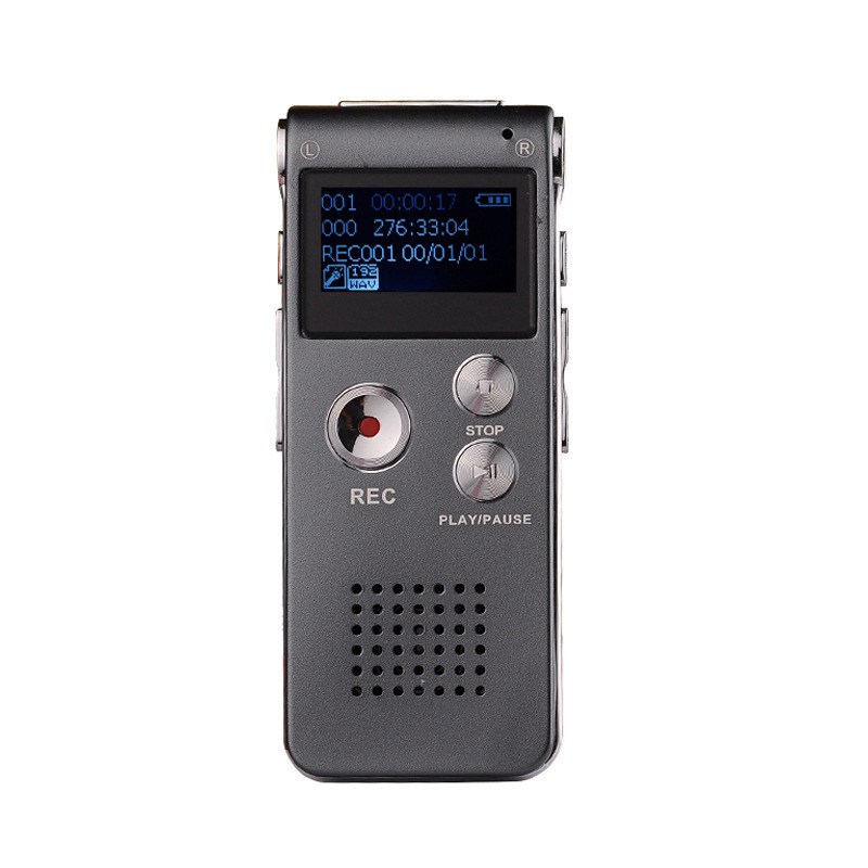 8G/16G digital voice recorder digital smart voice recorder recorder MP3 player external playback fun