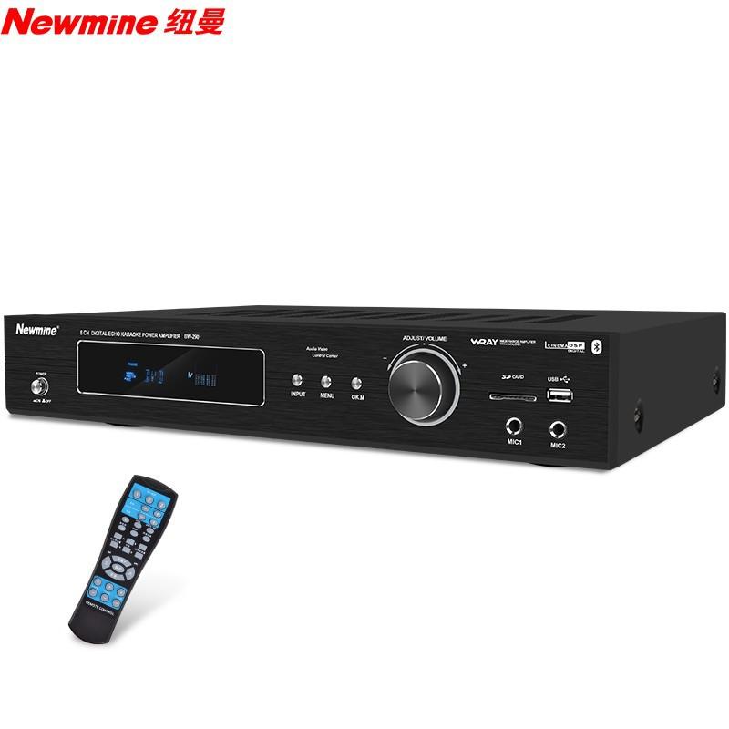 Newman Home Theater 5.1 Bluetooth Power Amplifier Home Audio High Power Constant Resistance Power Am