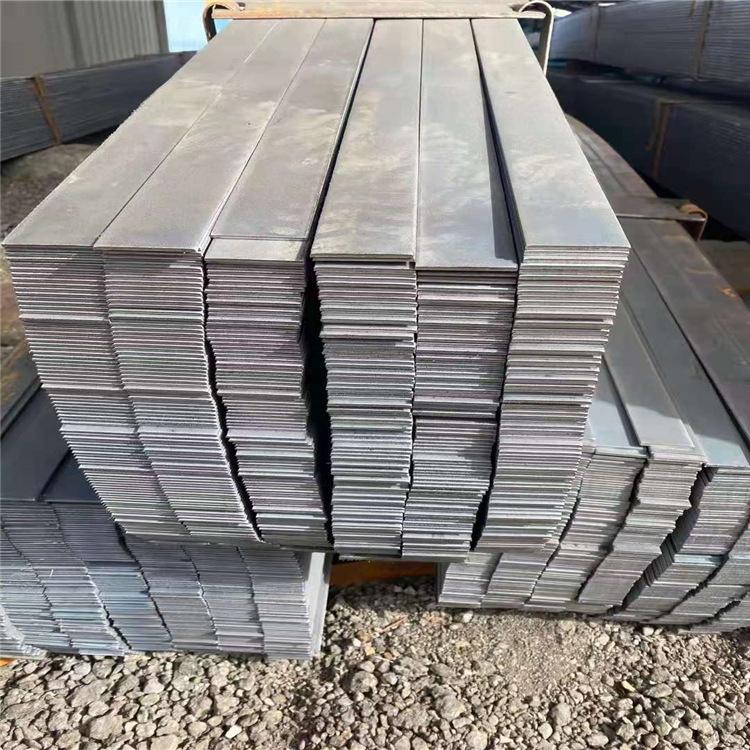 Hot-rolled flat steel q235b is used for escalators, bridges, fences, hot-rolled q235b thick-walled f