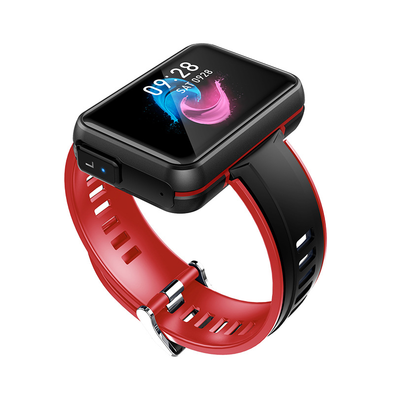 DECWIN New high-definition full touch screen smart watch TWS Bluetooth headset two-in-one call sport