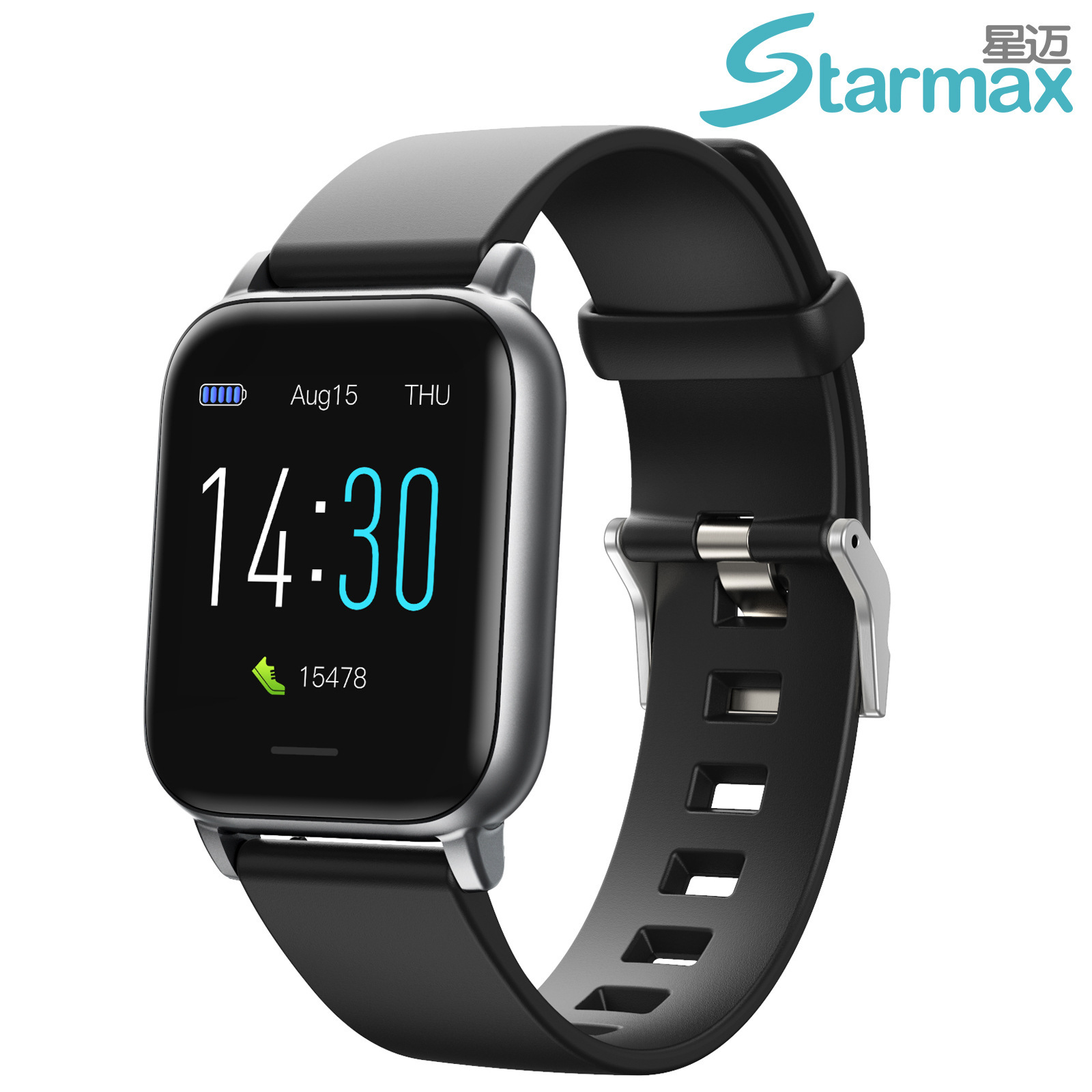 Runmifit 2021 Cross-border New S50 Sports Watch Heart Rate Healthy Blood Pressure Thermometer Step W