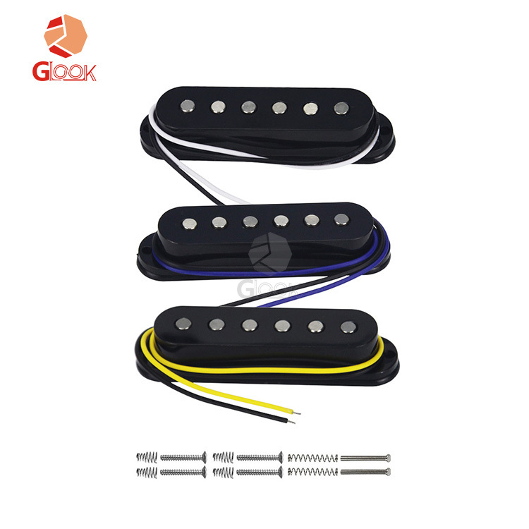 IKN St single coil pickup electric guitar single joint alnico5 flat single single single three singl