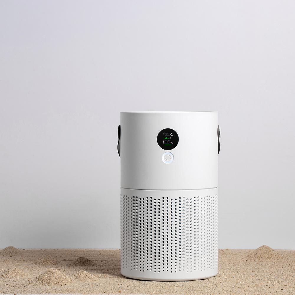 2020 new AP01 desktop negative ion purifier indoor bedroom office built-in 10,000 mAh battery