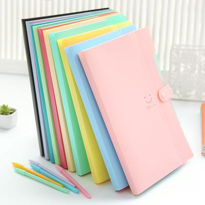 BOKE Bìa tài liệu Love の smile 5 vào cặp hồ sơ A4 bản Hàn Quốc đựng hồ sơ đựng hồ sơ đựng hồ sơ đựng