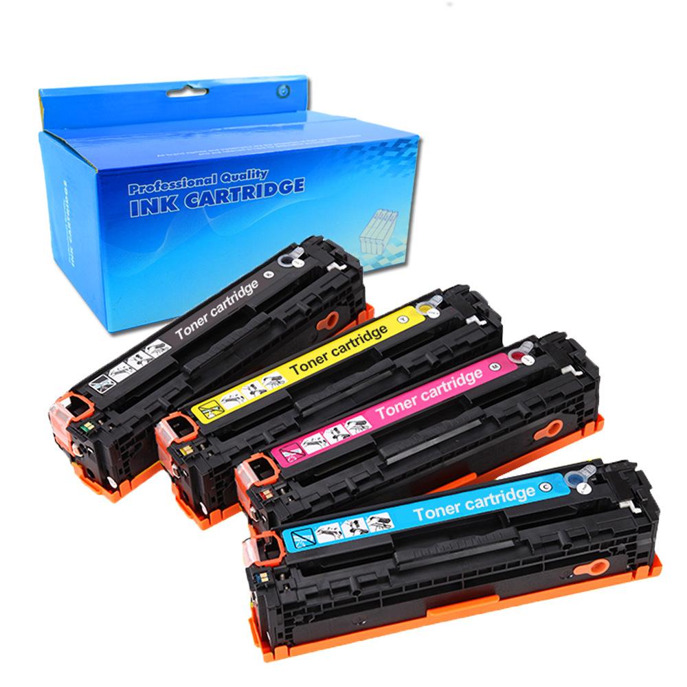 BADA Suitable for HP CF540A toner cartridge 203A ink cartridge hp M281fdw/M254dw/printer toner cartr