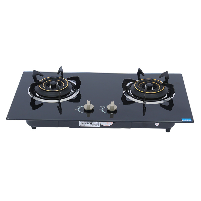 Built-in gas stove, gas stove, binocular gas stove, household gas stove