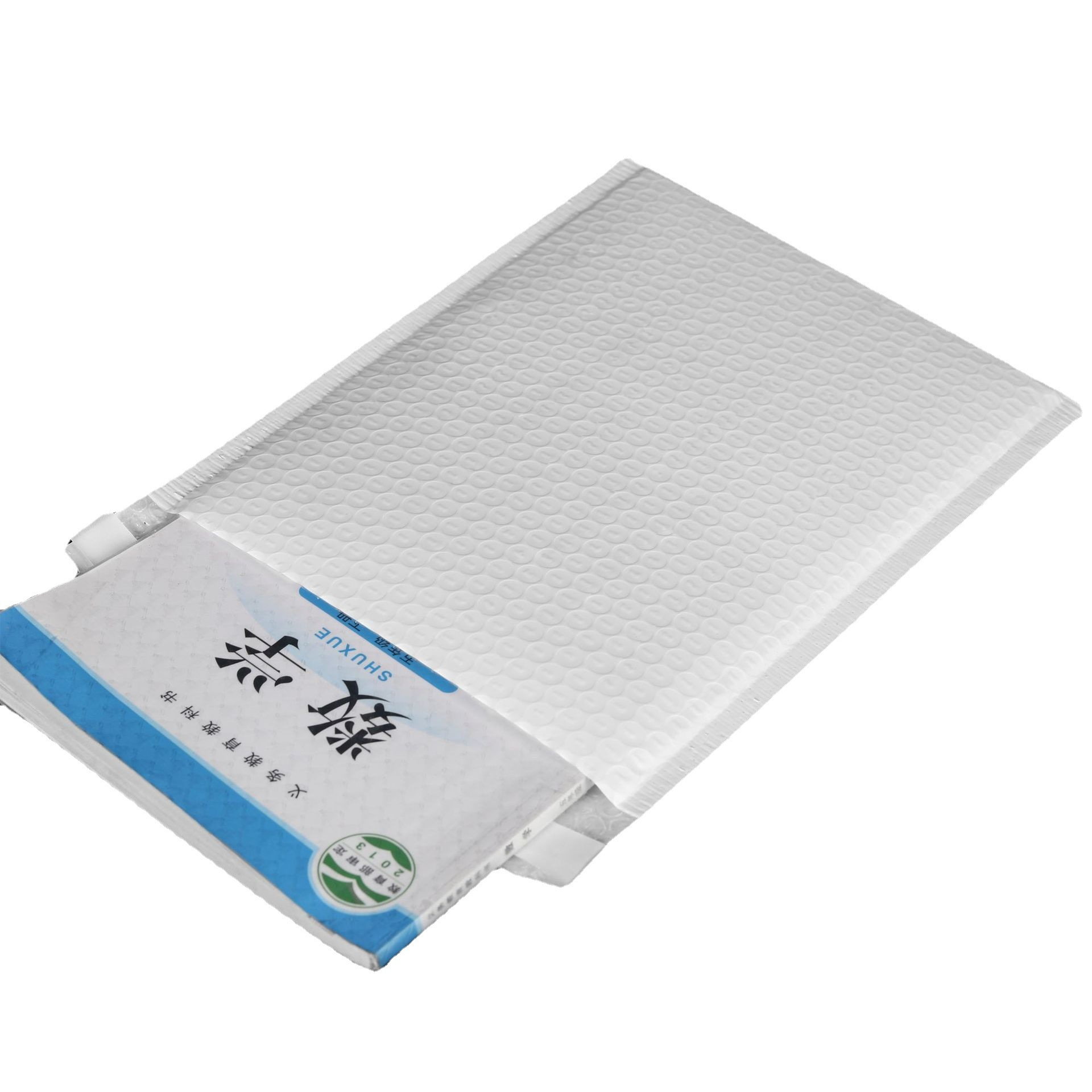 White composite thickened waterproof and drop-proof pearlescent film bubble foam express logistics s