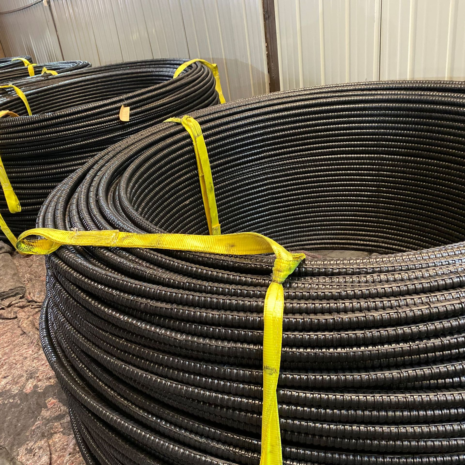 Retarded prestressed steel strands Retarded concrete can be used as fixed-end steel strands High str