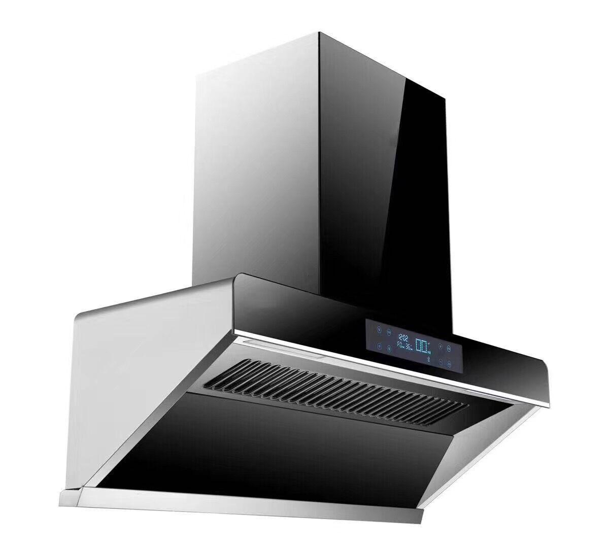 Good wife range hood side suction type household range hood high suction cabinet set top suction ran