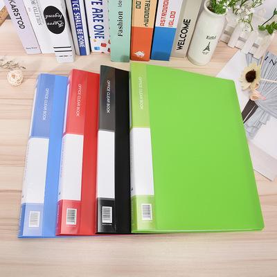WENSI ìa tài liệu Thư mục 10 trang nhỏ màu kẹo tươi thông tin học sinh sách kiểm tra giấy lưu trữ th