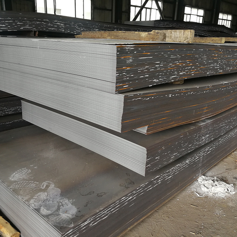 Q235B steel plate, hot-rolled plate, flat coil, A3 steel plate, can be flattened to length