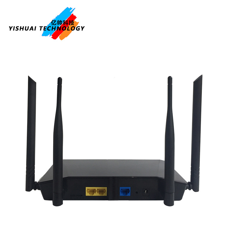4G wireless router 3 network ports 300M to wireless relay to wired bridge
