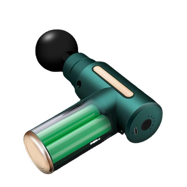 Vibration massager small mini fascia gun handheld mini home portable waist massager for men and wome