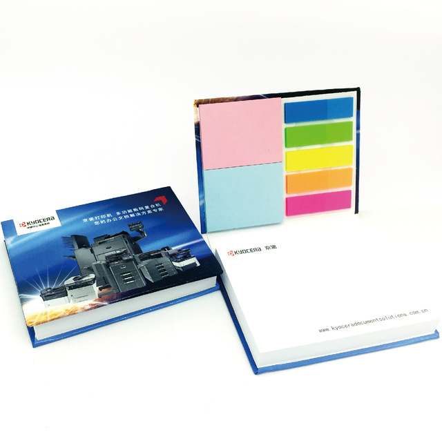 Post-it notes customized advertising note book combination customized creative note paper