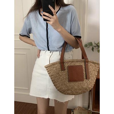 hooozen váy Huang Zheng sờn váy denim nữ mùa hè 2021 Phiên bản Hàn Quốc của váy eo cao eo mỏng một đ
