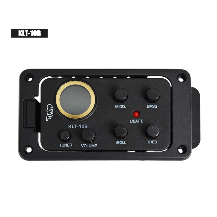 Guitar pickup, acoustic guitar electric box, LCD tuner, EQ, musical instrument accessories