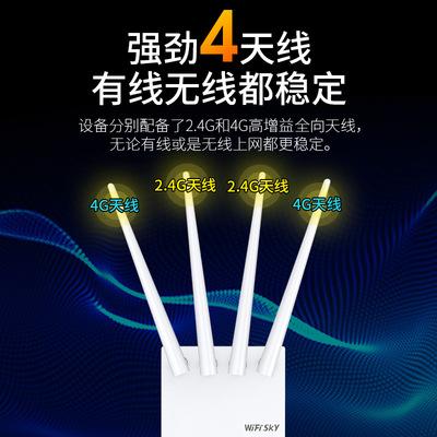 wifisky Modom  Wifi WS-R642 Nhà máy cung cấp trực tiếp giám sát tại nhà Bộ định tuyến không dây 4G đ