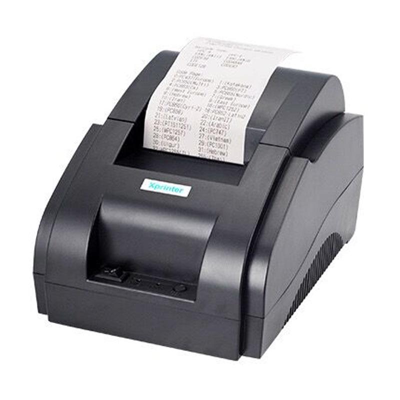 Xprinter Xinye XP-58IIH bill Bluetooth thermal printer POS58MM supermarket cashier takeaway small ti