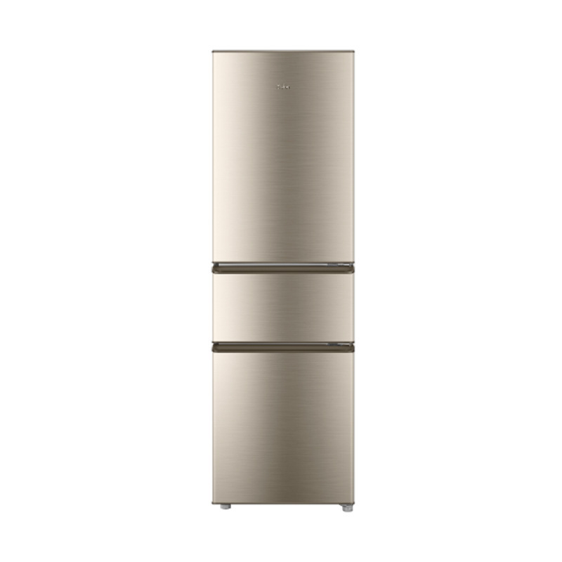 Haier/Haier refrigerator 218 liters three-door ultra-thin direct cooling fixed frequency household e