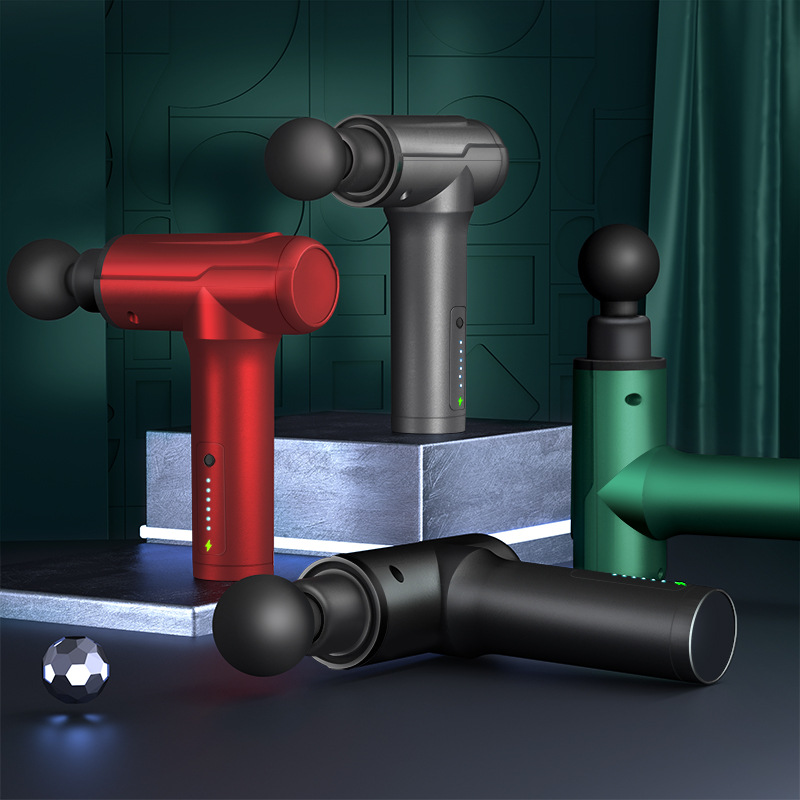 Fascia Gun Muscle Massager Fitness Relaxation Equipment Muscle Gun Electric Handheld Vibration Sport