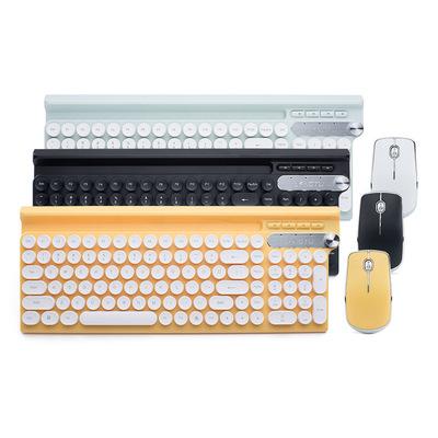 LANGTU Bàn phím Bộ bàn phím và chuột không dây Wolftu LT500 chống tràn game văn phòng home câm bàn p