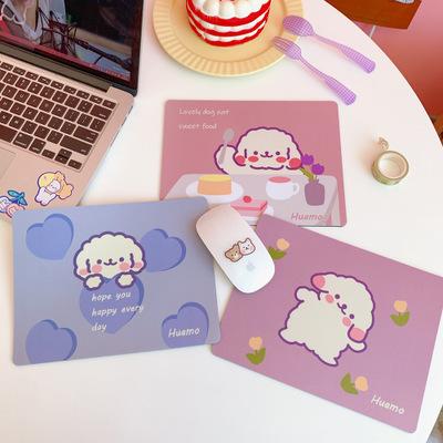 TENGYIYOUPING Thảm lót chuột Phiên bản Hàn Quốc của cô gái trong trái tim phim hoạt hình tấm lót chu