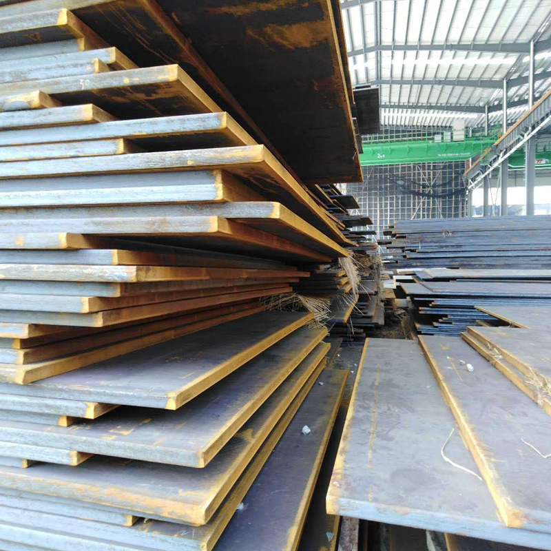 Manganese plate Q355B medium-thick steel plate processing weather-resistant ordinary hot-rolled stee