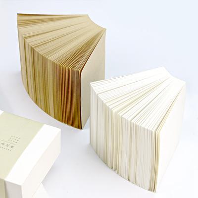 MUYU Decal tem mạc Takeaway ghi chú khen ngợi Giấy ghi chú gạch giấy Học sinh văn phòng sáng tạo màu