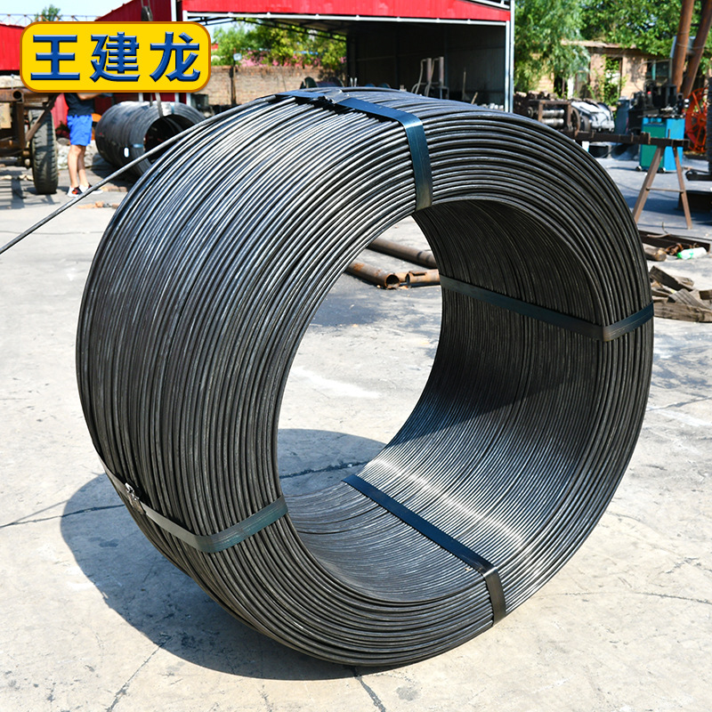 High-speed wire, ordinary wire, cold-drawn wire rod into large and small disks