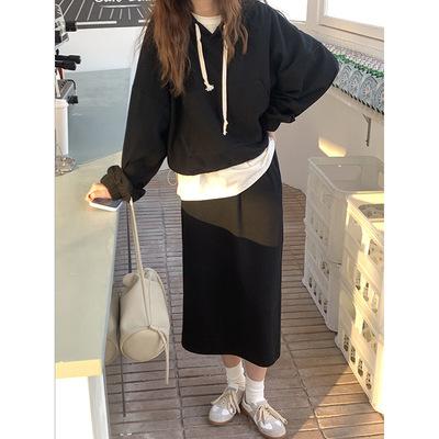Áo Sweater (Áo nỉ chui đầu) có mũ trùm đầu dành cho nữ .