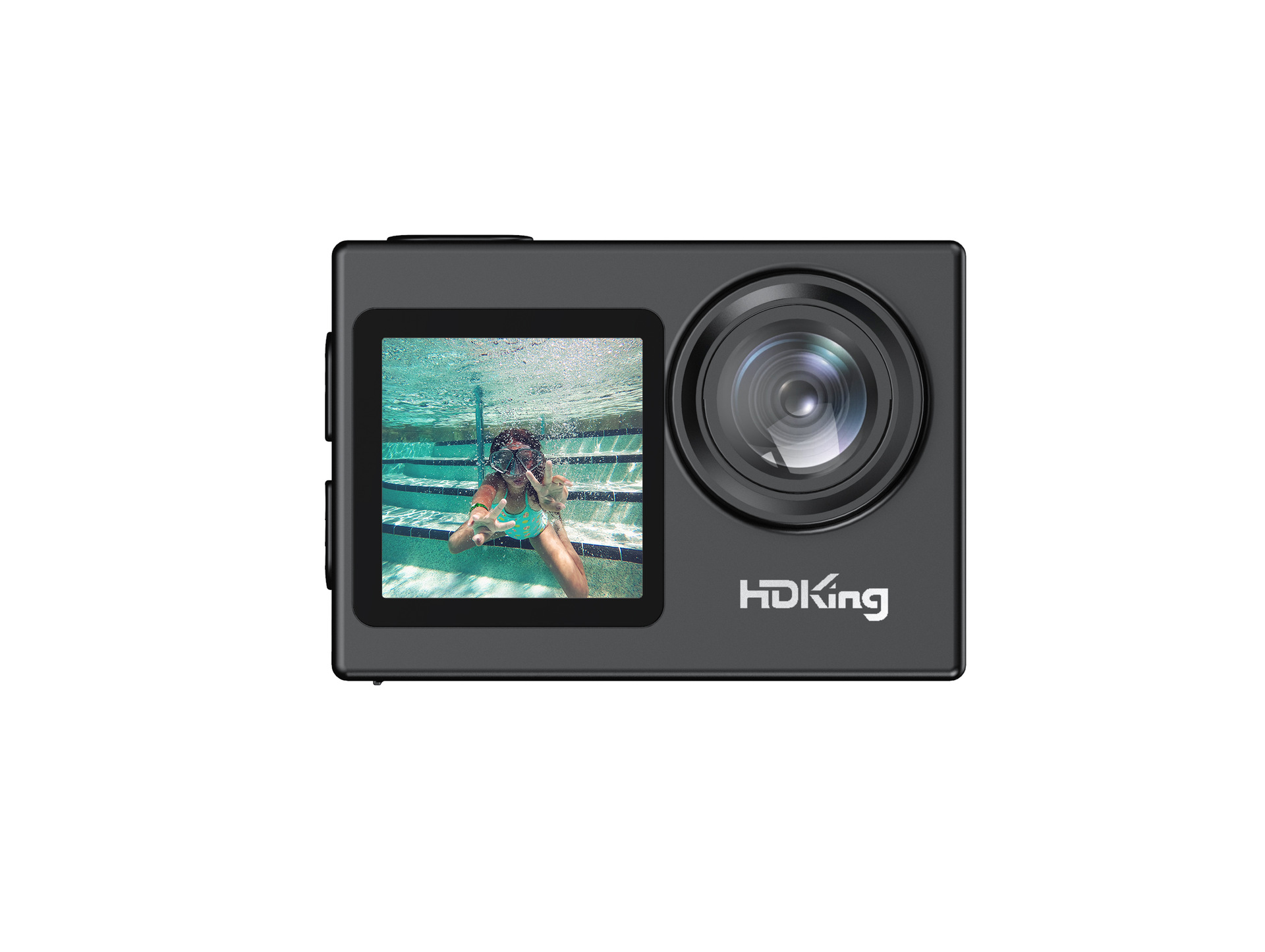 New true 4K dual color screen sports camera HD sports camera Outdoor sports camera