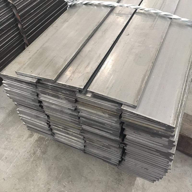Hot rolled flat steel Q345B galvanized flat iron Cold drawn iron bar 40*4 processing cutting