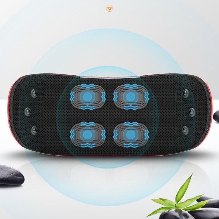 Small home electric lumbar spine massager smart waist and abdomen vibration massager