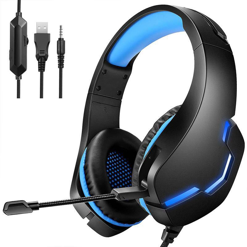 2020 new wired headset gaming eat chicken with wheat call desktop notebook line control PS4